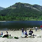 Loch Lubnaig Panorama by Mark Wilson