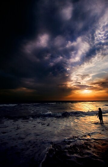 Catching Waves by Derek Flynn