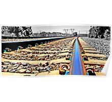 Laying Down the Tracks Poster