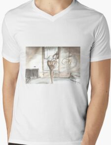 Like it doesn't exist Mens V-Neck T-Shirt