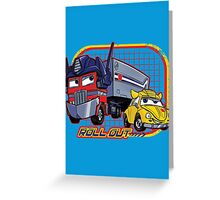 Roll Out Greeting Card
