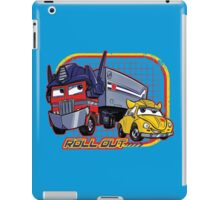 Roll Out iPad Case/Skin