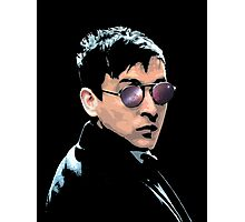 Hipster Oswald (Coloured|Black) Photographic Print