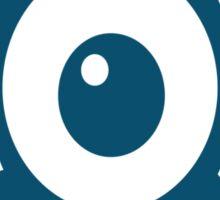 Eye Ball Cyclops Creature Sticker