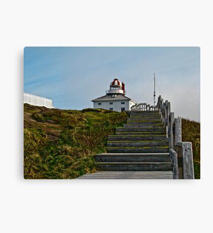 Cape Spear . St.John's, NL Canvas Print