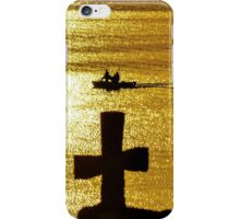 Late Afternoon Sun on Lake Zurich iPhone Case/Skin