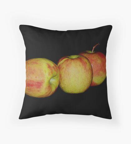 """Apples"" Throw Pillow"