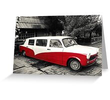 Retro car Greeting Card