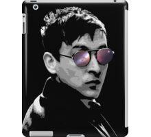 Hipster Oswald (Mono) iPad Case/Skin