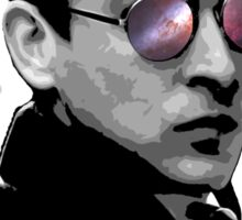 Hipster Oswald (Mono) Sticker