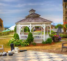 Gazebo at Blue Mountain 2 by John Velocci