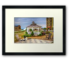 Gazebo at Blue Mountain 2 Framed Print