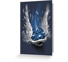 Blue Shell Attack Greeting Card