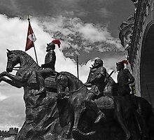 Spain Invades Loja Ecuador III by Al Bourassa