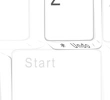 Ctrl Z Sticker