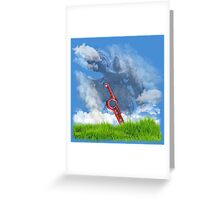 Xenoblade Chronicles cover Greeting Card