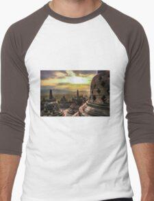 Stupa storing Buddha Men's Baseball ¾ T-Shirt