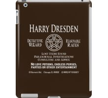 Harry Dresden - Wizard Detective iPad Case/Skin