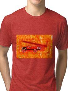 1914 Dennis Fire Engine Tri-blend T-Shirt