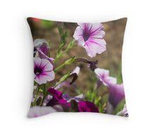 pale purple Throw Pillow