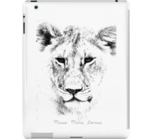 Lion Portrait iPad Case/Skin