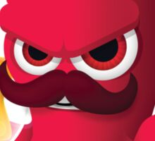"Bubble Heroes - Boris the Octopus ""Starfish"" Edition Sticker"
