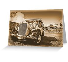 Rolling Down Old Maui Greeting Card