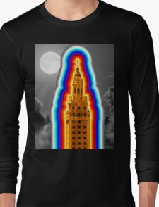 Miami Freedom Tower Cuban Liberty Downtown Brickell Long Sleeve T-Shirt