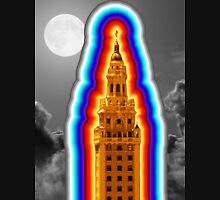 Miami Freedom Tower Cuban Liberty Downtown Brickell Unisex T-Shirt