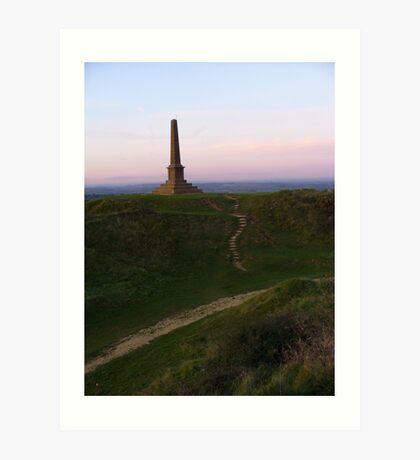 Remembrance Hill by Dawn Art Print
