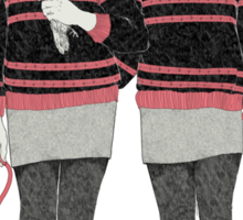Siamese Twins Sticker