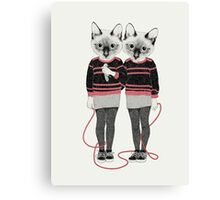 Siamese Twins Canvas Print