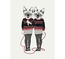 Siamese Twins Photographic Print