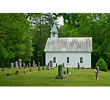 Country Church I Photographic Print