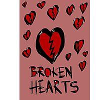 Broken hearts Photographic Print