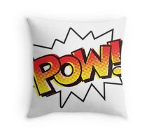 POW! Onomatopoeia Throw Pillow