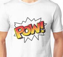 POW! Onomatopoeia Unisex T-Shirt
