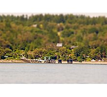 Vashon Island Ferry Pier Photographic Print