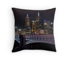 Princes Bridge and St Paul's Throw Pillow