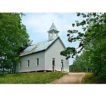 Cades Cove Methodist Church Photographic Print