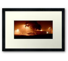Foggy Night 1 Framed Print