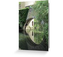 Framed reflection Greeting Card