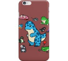 GW2: Quaggans! Quaggans Everywhere! iPhone Case/Skin