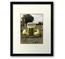 Back in those days... Framed Print