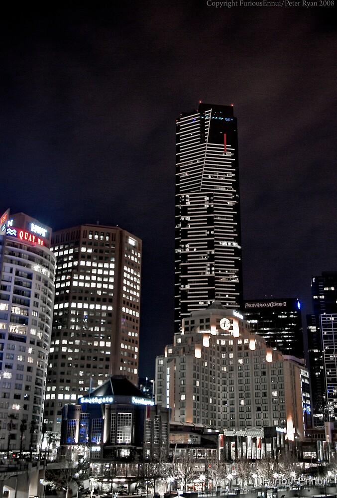 Southbank as Gotham City by FuriousEnnui