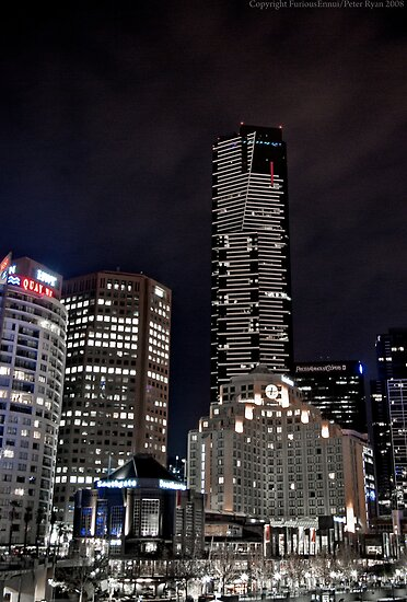 Southbank as Gotham City by FuriousEnnui