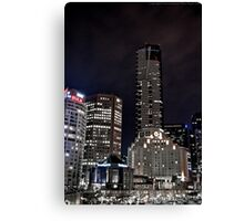 Southbank as Gotham City Canvas Print