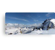 Mont Blanc Glacier Canvas Print