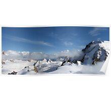 Mont Blanc Glacier Poster
