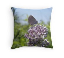 purple feast Throw Pillow